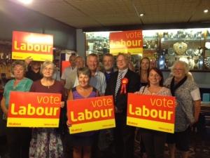 Andy Newman, Chippenham Labour PPC