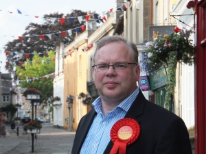 Andy Newman Labour parliamentary candidate for Chippenham constituency