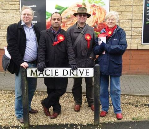 labour in Corsham
