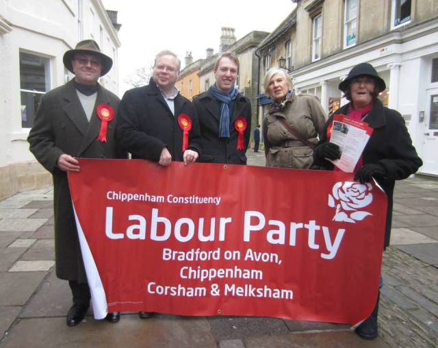 campaigning in Corsham