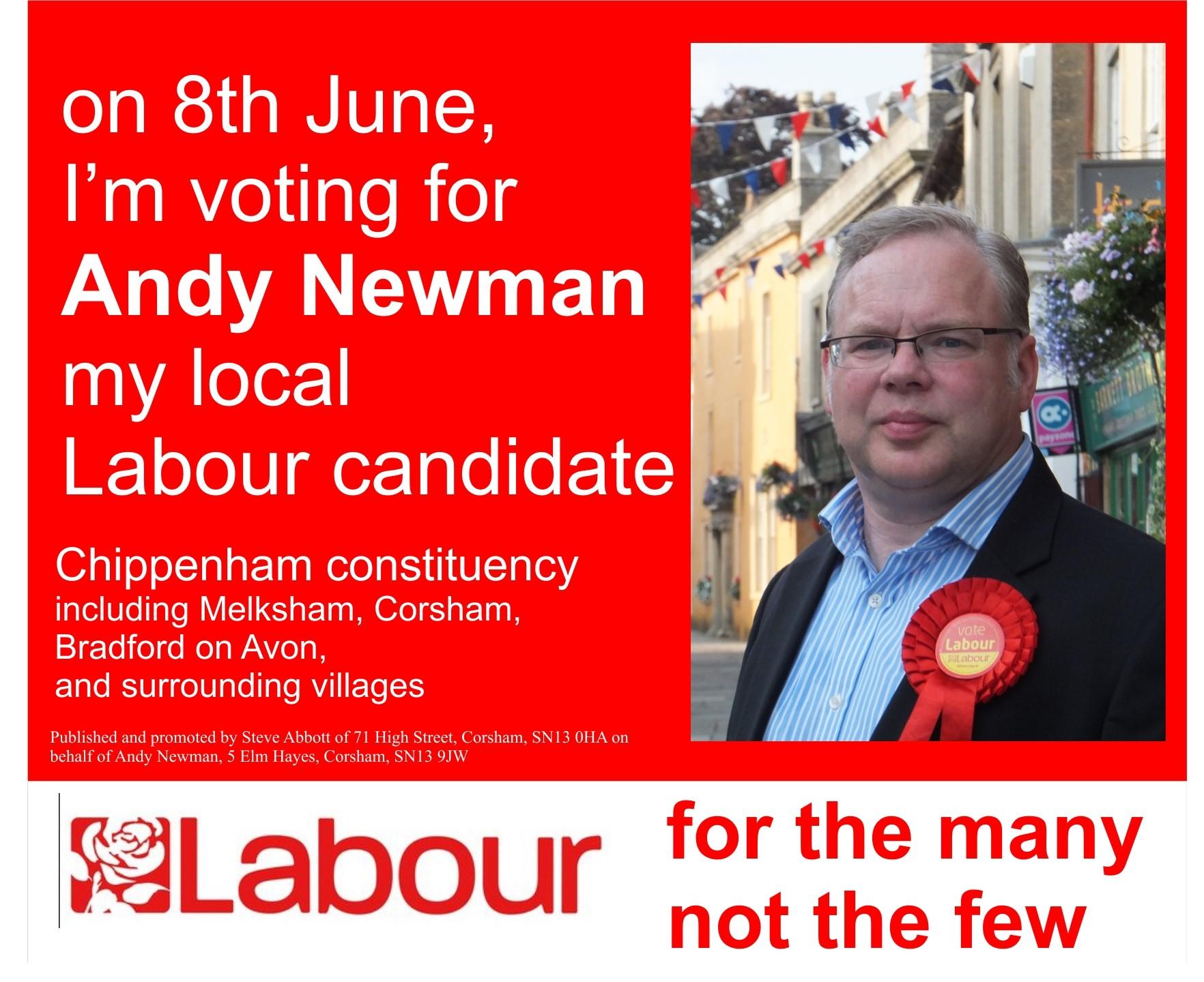 vote Labour 8 June