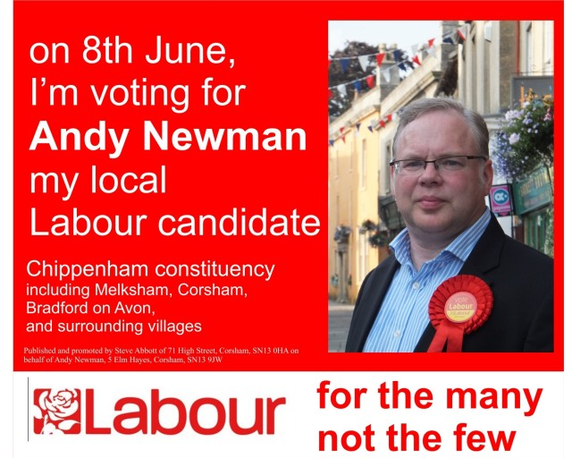 vote Labour 8 June